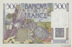 500 Francs CHATEAUBRIAND FRANCE  1946 F.34.05 TB+