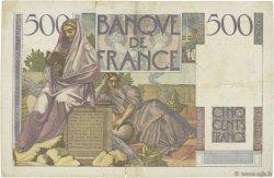 500 Francs CHATEAUBRIAND FRANCE  1952 F.34.09 TB+