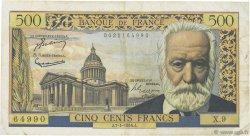 500 Francs VICTOR HUGO FRANCE  1954 F.35.01 TB