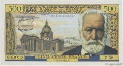 500 Francs VICTOR HUGO FRANCE  1954 F.35.03 pr.SUP