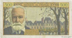 500 Francs VICTOR HUGO FRANCE  1957 F.35.07 TTB
