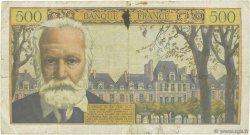500 Francs VICTOR HUGO FRANCE  1957 F.35.07 TB