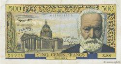 500 Francs VICTOR HUGO FRANCE  1958 F.35.08 TB+