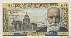 500 Francs VICTOR HUGO FRANCE  1958 F.35.09 SUP+
