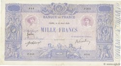1000 Francs BLEU ET ROSE FRANCE  1915 F.36.29 TB