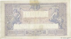 1000 Francs BLEU ET ROSE FRANCE  1921 F.36.37 B+