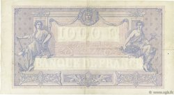 1000 Francs BLEU ET ROSE FRANCE  1924 F.36.40 TB+