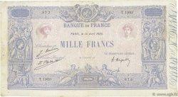1000 Francs BLEU ET ROSE FRANCE  1925 F.36.41 pr.TB