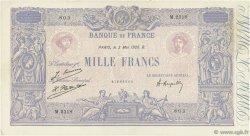 1000 Francs BLEU ET ROSE FRANCE  1926 F.36.42 TB à TTB