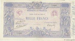 1000 Francs BLEU ET ROSE FRANCE  1926 F.36.42 TB+