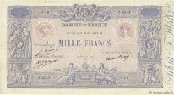 1000 Francs BLEU ET ROSE FRANCE  1926 F.36.43 TB