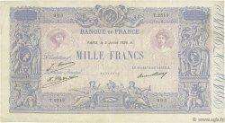 1000 Francs BLEU ET ROSE FRANCE  1926 F.36.43 TB