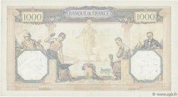 1000 Francs CÉRÈS ET MERCURE FRANCE  1927 F.37.01 TTB