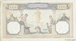 1000 Francs CÉRÈS ET MERCURE FRANCE  1929 F.37.03 TTB