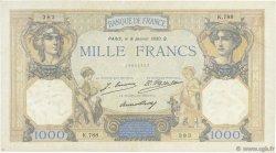 1000 Francs CÉRÈS ET MERCURE FRANCE  1930 F.37.04 TTB