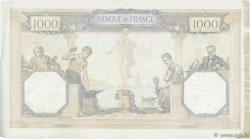 1000 Francs CÉRÈS ET MERCURE FRANCE  1931 F.37.06 TTB