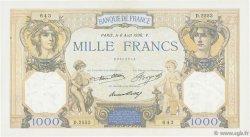 1000 Francs CÉRÈS ET MERCURE FRANCE  1936 F.37.09 SUP+