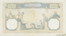 1000 Francs CÉRÈS ET MERCURE type modifié FRANCE  1938 F.38.32 TTB