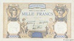 1000 Francs CÉRÈS ET MERCURE type modifié FRANCE  1939 F.38.34 pr.TTB
