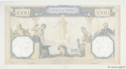 1000 Francs CÉRÈS ET MERCURE type modifié FRANCE  1939 F.38.34 TTB+