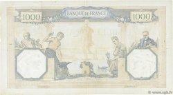1000 Francs CÉRÈS ET MERCURE type modifié FRANCE  1940 F.38.45 TB+