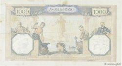 1000 Francs CÉRÈS ET MERCURE type modifié FRANCE  1940 F.38.49 TTB+
