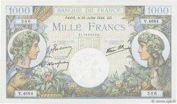 1000 Francs COMMERCE ET INDUSTRIE FRANCE  1944 F.39.12 pr.NEUF