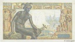 1000 Francs DÉESSE DÉMÉTER FRANCE  1942 F.40.05 pr.SPL