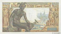 1000 Francs DÉESSE DÉMÉTER FRANCE  1942 F.40.08 SPL