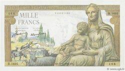 1000 Francs DÉESSE DÉMÉTER FRANCE  1942 F.40.09 pr.NEUF