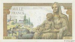 1000 Francs DÉESSE DÉMÉTER FRANCE  1942 F.40.13 SUP+