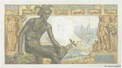1000 Francs DÉESSE DÉMÉTER FRANCE  1943 F.40.17 SUP