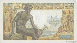 1000 Francs DÉESSE DÉMÉTER FRANCE  1943 F.40.18 SUP+