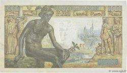 1000 Francs DÉESSE DÉMÉTER FRANCE  1943 F.40.23 TTB+