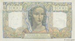 1000 Francs MINERVE ET HERCULE FRANCE  1945 F.41.02 TTB