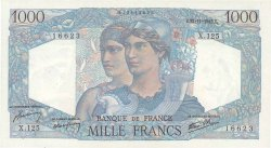 1000 Francs MINERVE ET HERCULE FRANCE  1945 F.41.08 SUP