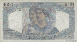 1000 Francs MINERVE ET HERCULE FRANCE  1946 F.41.10 pr.SUP
