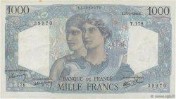 1000 Francs MINERVE ET HERCULE FRANCE  1946 F.41.10 pr.SPL