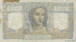 1000 Francs MINERVE ET HERCULE FRANCE  1946 F.41.14 B