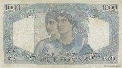 1000 Francs MINERVE ET HERCULE FRANCE  1946 F.41.15 B+