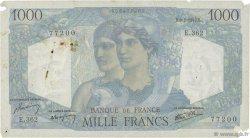 1000 Francs MINERVE ET HERCULE FRANCE  1947 F.41.18 B