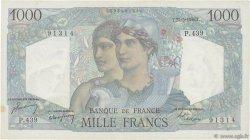 1000 Francs MINERVE ET HERCULE FRANCE  1948 F.41.21 TTB