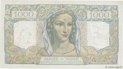 1000 Francs MINERVE ET HERCULE FRANCE  1949 F.41.25 TTB+