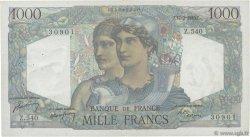 1000 Francs MINERVE ET HERCULE FRANCE  1949 F.41.25 TTB