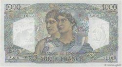 1000 Francs MINERVE ET HERCULE FRANCE  1949 F.41.29 pr.SUP