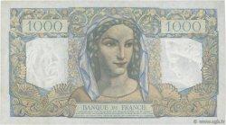 1000 Francs MINERVE ET HERCULE FRANCE  1949 F.41.30 TTB+