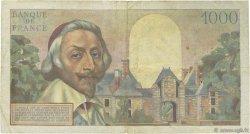 1000 Francs RICHELIEU FRANCE  1954 F.42.04 TB