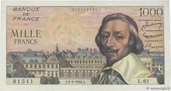 1000 Francs RICHELIEU FRANCE  1954 F.42.07 SUP+