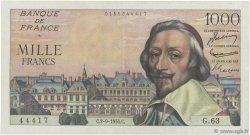 1000 Francs RICHELIEU FRANCE  1954 F.42.07 TTB+