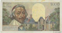 1000 Francs RICHELIEU FRANCE  1955 F.42.10 TTB